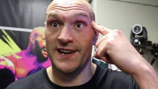'NOBODY LISTENED' - TYSON FURY REACTS TO STUNNING KNOCKOUT OF DEONTAY WILDER IN LAS VEGAS