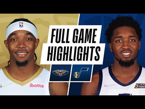 PELICANS at JAZZ | NBA PRESEASON FULL GAME HIGHLIGHTS | October 11, 2021