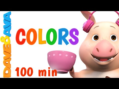Play and Learn Colors With Dave and Ava