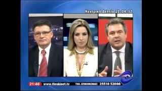 Πάνος Καμμένος @ Thrakinet TV 21-4-2012