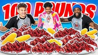 2HYPE 100 Pounds Craw Fish Mukbang!