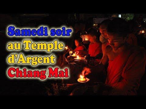 samedi soir au silver temple de chiang mai