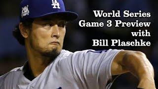 Bill Plaschke Talks Dodgers Chances in World Series Game 3   Los Angeles Times