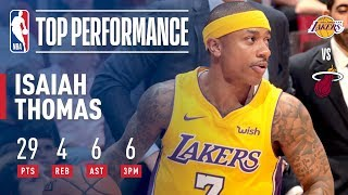 Isaiah Thomas Leads the Lakers With a Season-High 29 Pts! | March 1, 2018