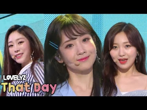 [HOT] LOVELYZ - That Day, 러블리즈 - 그날의 너 Show Music core 20180512