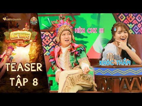 Thiên đường ẩm thực 6 | Teaser Tập 8: Emma Nhất Khanh khóc thầm khi bị Trường Giang xoáy vào nỗi đau