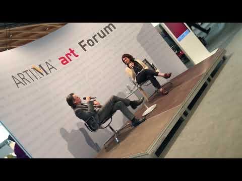 """ARTIMA auf der art KARLSRUHE 2019 - ARTIMA art Meeting """"Sammeln"""" mit Improvisation"""