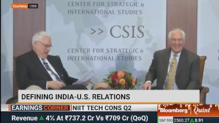 U.S. Secretary Of State Rex Tillerson On India