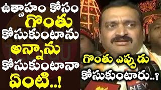 Bandla Ganesh responds on slashing throat with blade, Cong..