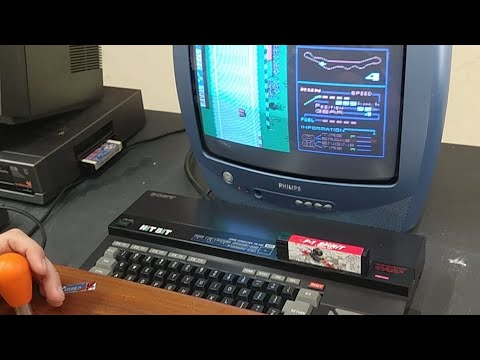 MSX 35 Aniversario F1 Spirit