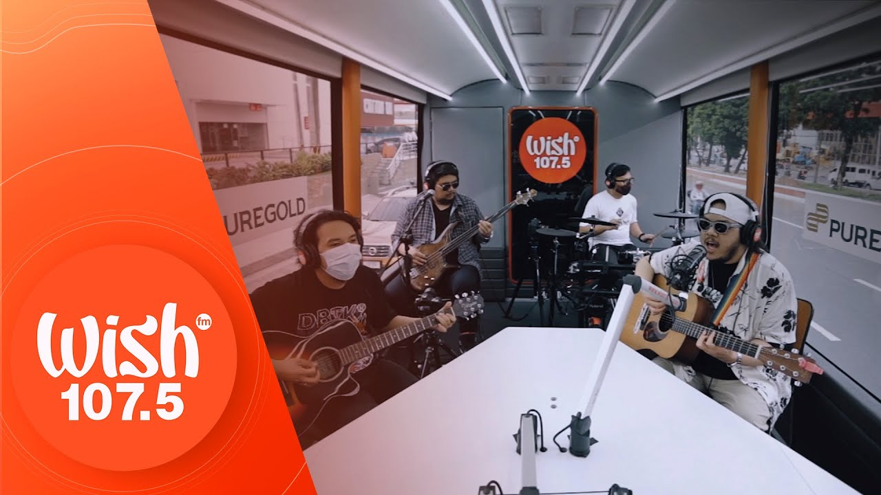 """Mayonnaise performs """"St. Augustine"""" LIVE on Wish 107.5 Bus"""