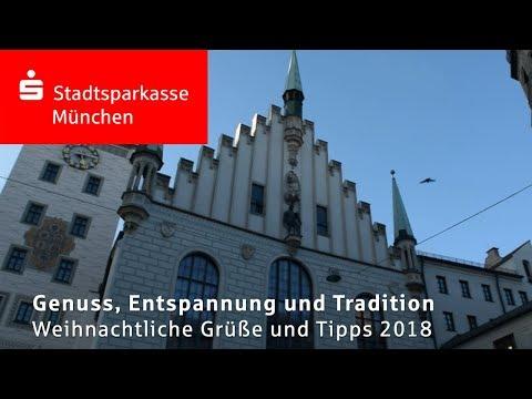 Weihnachtliche Grüße von der Stadtsparkasse München