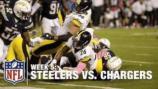 Saved by the Bell! Le'Veon Bell Scores the Game-Winning TD | Steelers vs. Chargers | NFL
