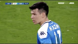 Hirving Lozano shows to be a phenomenon against Juventus (31/08/2019) - 1080p