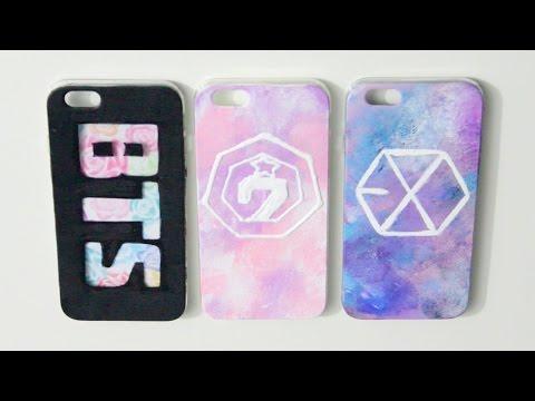 DIY Kpop Phone Case Ideas - GOT7, BTS & EXO | heyimvicky