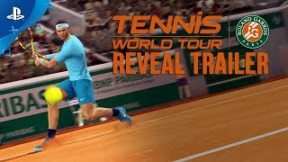 Tennis world tour: roland-garros edition :  bande-annonce