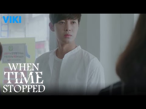 When Time Stopped - EP1 | Kim Hyun Joong Meets An Ji Hyun For the First Time [Eng Sub]