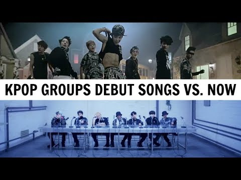 KPOP DEBUT SONGS VS. NOW | 20 KPOP Groups