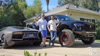 Visiting Salomondrin's Garage and Raptor S Test Drive!