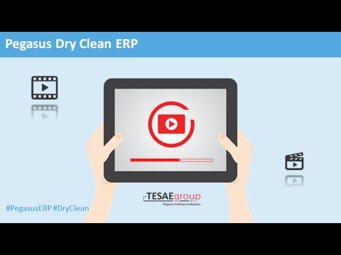 Pegasus Dry Clean ERP