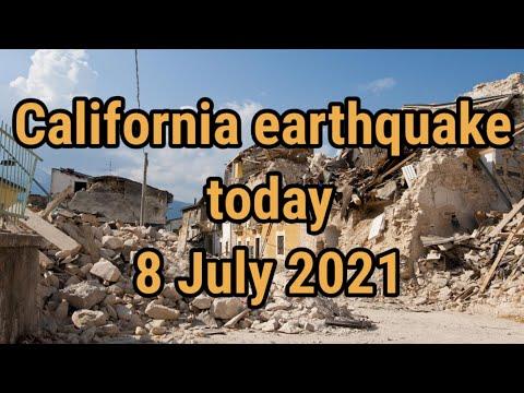 California earthquake today | magnitude 5.9 earthquake shakes wide area of California
