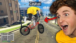 I Became A Professional BMX RIDER In GTA 5.. (Mods)
