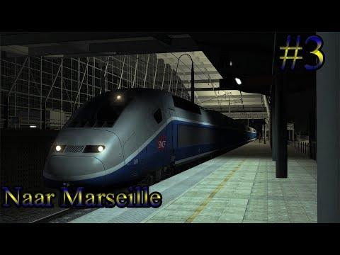 Met de TGV naar Marseille    Train Simulator 2017