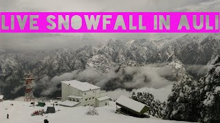 BEST SNOWFALL VLOG OF AULI UTTARAKHAND|| HEAVY SNOWFALL IN AULI || LPSB THE MOUNTAIN MAN