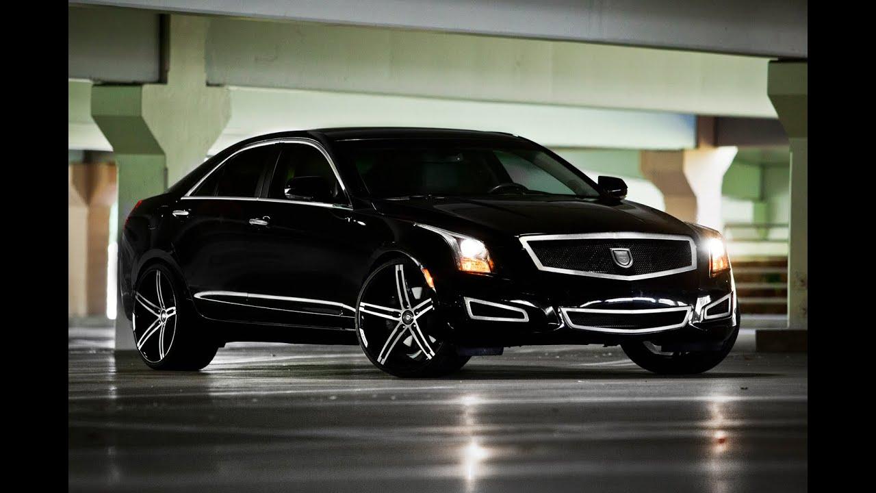 "Cadillac Ats Rims >> 2014 Cadillac ATS on 20"" Lexani Wheels - YouTube"