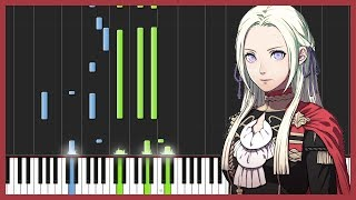 Trailer Theme - Fire Emblem: Three Houses [Piano Tutorial] (Synthesia) // Torby Brand