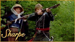 Sharpe Fights Off The French   Sharpe