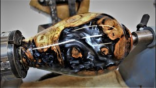 Woodturning - The Silver Stump