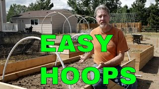 How to Make Hoops for Raised Beds (4 Ways)