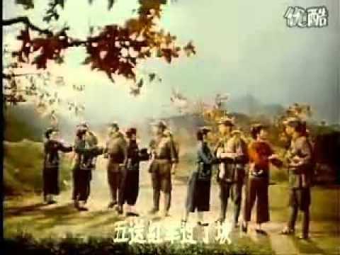 75影视歌曲  十送红军