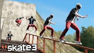 Skate 3: INSANE DARK SLIDE TRICK?   Epic Challenges!
