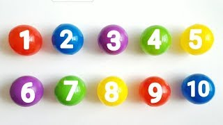 Learn Numbers 1 to 10   Counting 123   Educational Video for Kids, Children and Toddlers
