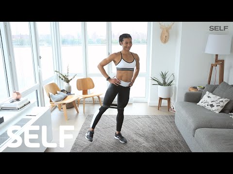 The Ultimate Fat-Burning, Butt-Lifting Workout You Can Do At Home | SELF