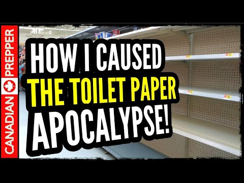 How I caused the Toilet Paper Crisis of 2020!