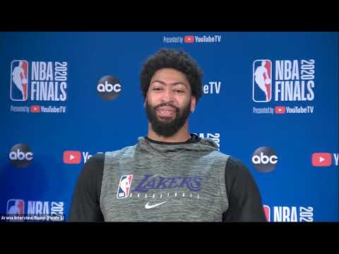 Anthony Davis On Making His First NBA Finals, Finishing The Job | NBA Finals Game 1 Interview