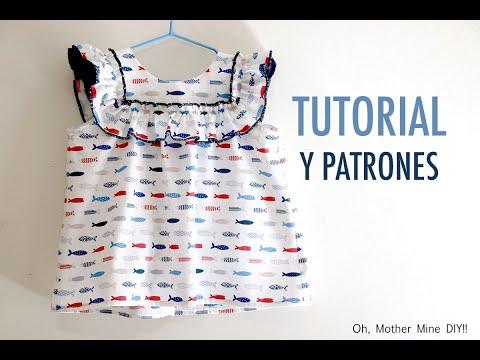 Costura: como hacer blusa niñas (patrones gratis)