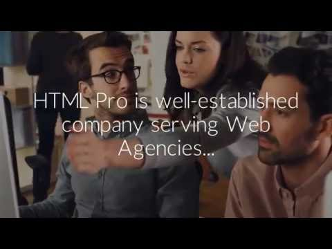 HTML Pro - The Best PSD to HTML & Web Design Company