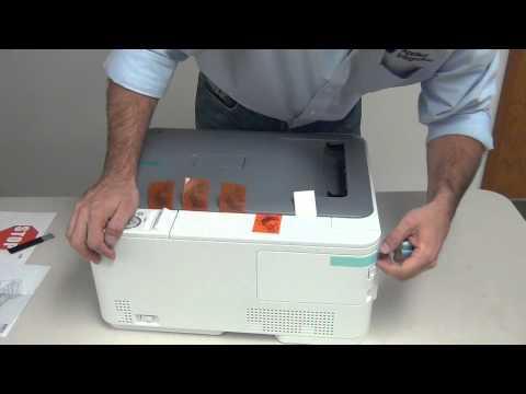 Video Tutorial AI18 - Okidata Color Printer Setup