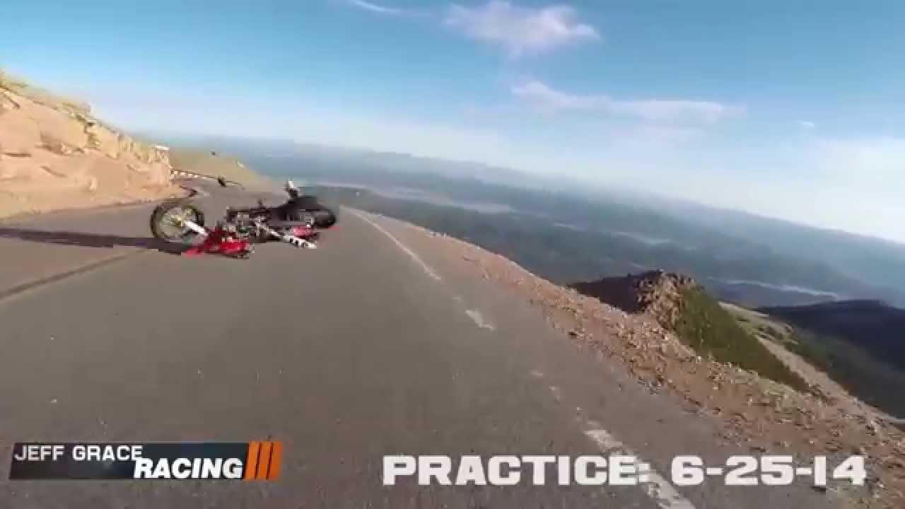 La moto tombée du ciel