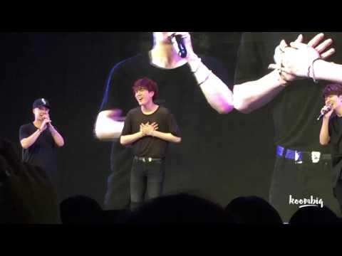 GOT7 Yugyeom vs. Youngjae Dance Battle: GOT7 Fanmeeting in Singapore 151206