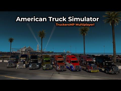 American Truck Simulator - TruckersMP -- Livestream 01/06/2019