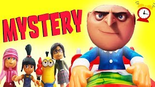 Don't Wake Daddy Gru Mystery Game Clue Episode w Minions, Blind Bags, Learn Colors & Numbers!