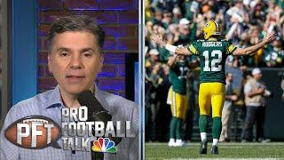 Aaron Rodgers, Lamar Jackson lead NFL MVP race after Week 7   Pro Football Talk   NBC Sports