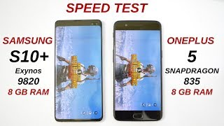Samsung S10 Plus vs Oneplus 5 Speed Test Oneplus 5 is Still Remarkable🔥🔥
