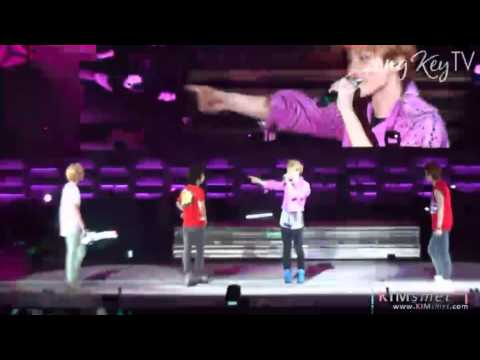 JongKey 종키 Fancam moment # 38 - Closer (Japan Arena Tour Part 2)