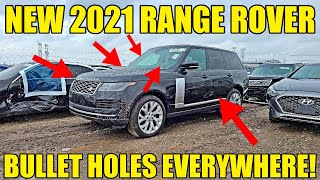 Inside A Creepy Chicago Auto Auction Inspecting Cars Riddled With Bullet Holes! Would You Buy One?